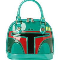 Star Wars Loungefly Boba Fett Patent Dome Bag