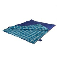 Stansport 6 lb 2 Person Sleeping Bag 87in X 66 in