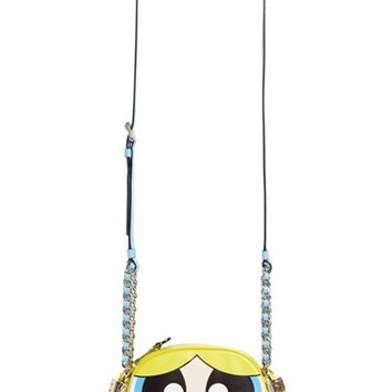 Moschino 'The Powerpuff Girls® - Bubbles' Canteen Crossbody Bag | Nordstrom