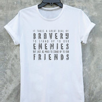 Harry Potter Shirt Dumbledore Quotes tumblr Tee Shirt Albus Dumbledore t shirt with sayings Inspired by Harry Potter