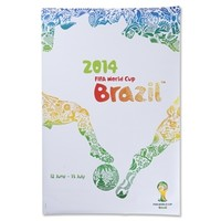 2014 FIFA World Cup Brazil(TM) Official Poster (English) - WorldSoccerShop.com