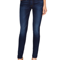 7 for All Mankind Women's Whiskered Skinny Jean - Blue -