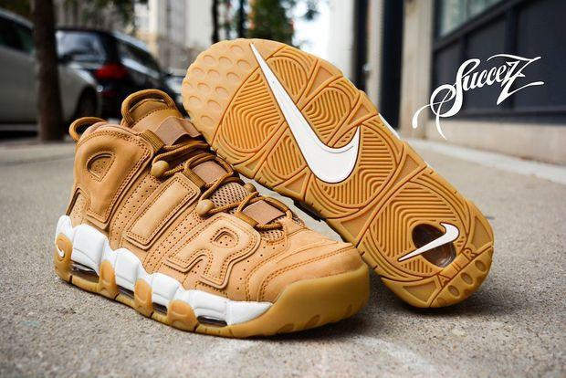 Image of Nike Air More Uptempo Fashion Women Men Casual Sports Basketball Shoes Sneakers