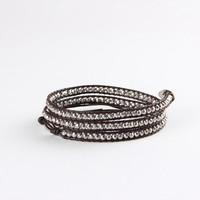 Diamond Rough Wrap Bracelet
