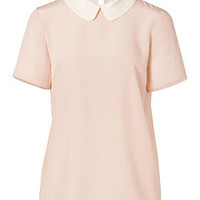 Marc by Marc Jacobs - Silk Alex Top in Wintage Rose Multi
