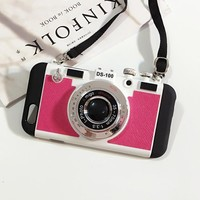 Hot Deal On Sale Cute Iphone 6/6s Stylish Innovative Apple Photographing Iphone Silicone Korean Phone Case [8790237319]