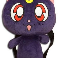 Sailor Moon Luna Cat 12.5'' Plush Bag