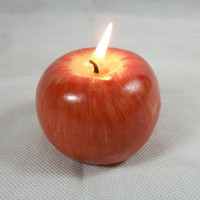 3 Sizes Apple Fruit Scented Candles