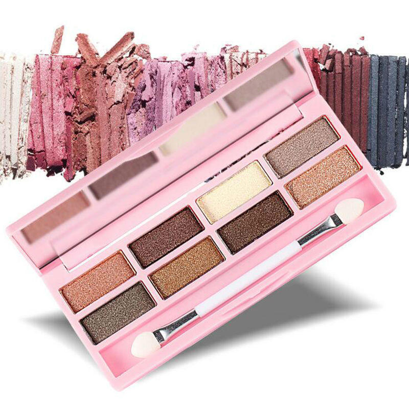 Image of New Brand 8 Color Professional Naked Eyeshadow Palette Nude Make Up Neutral Matte Eyeshadow Palette Maquiagem
