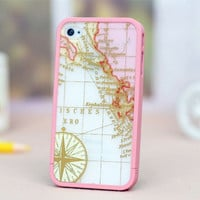 Case for iPhone Treasure Map