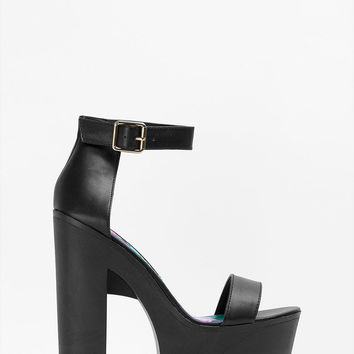 Pacifica Chunky Ankle Strap Sandal