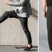 Dress Pant Flex Pants (Gray)