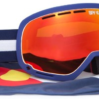 Spy Marshall Shred CO SMU 2013/2014 (Bronze W/Red Spectra + Blue Contact) Snow Snow Accessories at 7TWENTY Boardshop, Inc