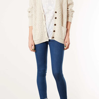 Knitted Cable Cardi