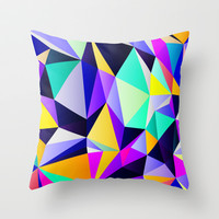 Geometric No. 12 Throw Pillow by House of Jennifer