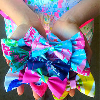 Lilly Pulitzer Small Hair Tie Bow