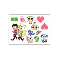 Star vs The Forces of Evil - Sheet of Temporary Tattoos