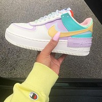 Nike Air Force 1 Shadow Tropical Twist Popular Women Sport Running Shoes Sneakers