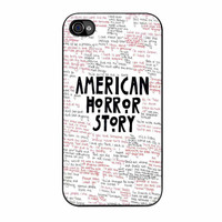 American Horror Story Quotes iPhone 4s Case