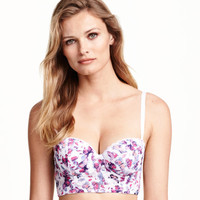 Lace Bustier - from H&M