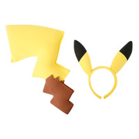 Pokemon Pikachu Tail Ears Costume Kit