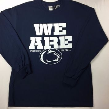 """Penn State Nittany Lions """"We Are Penn State"""" Long Sleeve T-Shirt - 2XL/XL/L -NWT"""