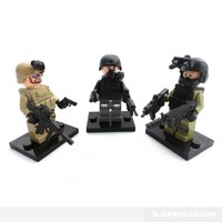 Special Forces Soldiers - Lego Compatible Minifigures