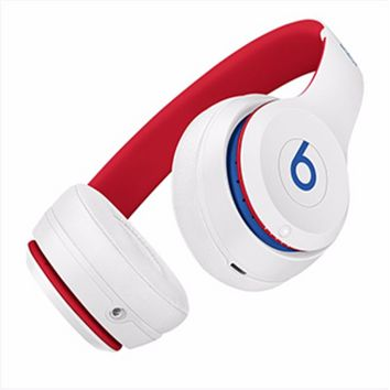 Onewel White(ren internal) Beats Solo 3 Wireless Classic Cool Magic Sound Bluetooth Wireless Hands Headset MP3 Music Headphone with Microphone Line-in Socket TF Card Slot