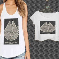 Star Wars HAn Solo quotes For Woman Tank Top , Man Tank Top / Crop Shirt, Sexy Shirt,Cropped Shirt,Crop Tshirt Women,Crop Shirt Women S, M, L, XL, 2XL**
