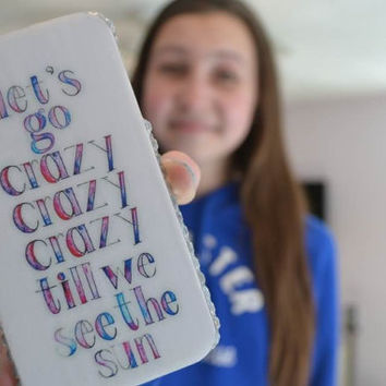 Live While We're Young Lyrics Case - Perfect for those One Direction Fans
