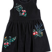 Floral Holiday Dress