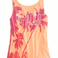 AEO Factory Women's Swing Tank (Neon Orange)