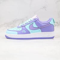 "Nike Air Force 1 Premium ""Violet"" low-top sneakers shoes"
