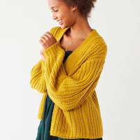 BDG Frankie Chunky Knit Cardigan | Urban Outfitters