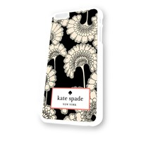 Kate Spade Pattern White Plastic For iPhone 6 Case