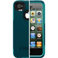 OtterBox Commuter Series for iPhone 4/4S - 1 Pack - Carrying Case - Deep teal/Light teal:Amazon:Cell Phones & Accessories