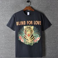 Skateboard Skater t-Shirt High New  Novelty Men Blind For Love UFO T Shirts T-Shirt Hip Hop  Parkour Street Cotton T-Shirts Tee Top #F93 AT_45_3