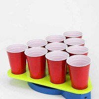Spinning Beer Pong Rack- Lime One