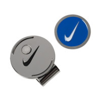 Nike Golf Hat Clip and Ball Marker (Blue)