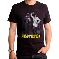 Pulp Fiction Men's  Dance Off T-shirt Black Rockabilia