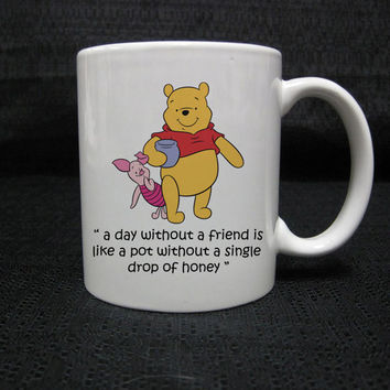 winnie the pooh quotes for mug two side