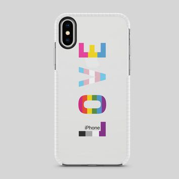 Tough Bumper iPhone Case - Pride Love