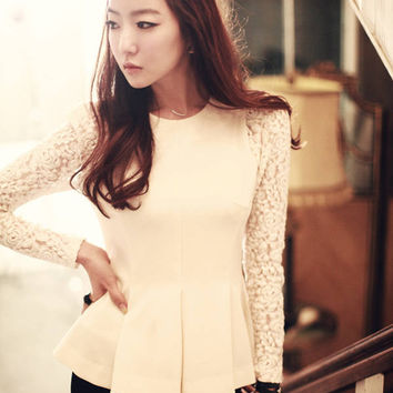 Chic Lace Lotus Top