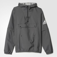adidas Sideline Anorak Jacket - Black | adidas UK