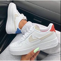 NIKE Air Force 1 Inside Out Air Force mandarin ducks broken hook shoes