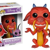 Funko Pop  Disney Mulan - Mushu & Cricket 167 5898