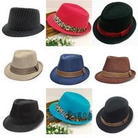 New New Sale Jazz Toddler Kids Baby Boy Girl Cap Cool PNewography Fedora Hats