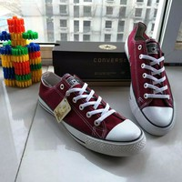 """Converse Chuck Taylor All Star"" Unisex Sport Casual Low Help Shoes Canvas Shoes Couple Classic Cloth shoes"