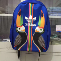 """Adidas"" Casual Multicolor Laptop Bag School Backpack Travel Bag"