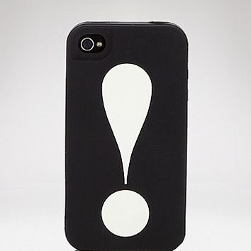 kate spade new york iPhone 4 Case - Exclamation Point | Bloomingdale's